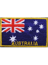 "Australia Flags ""With Text"""