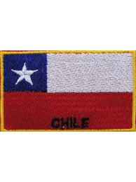 "Chile Flags ""With Text"""