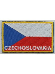 "Czech Republic (Czechoslovakia) Flags ""With Text"""