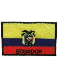 "Ecuador Flags ""With Text"""