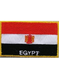 "Egypt Flags ""With Text"""