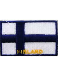 "Finland Flags ""With Text"""