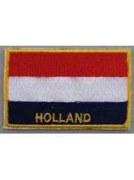 "Holland Flags ""With Text"""