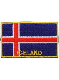 "Iceland Flags ""With Text"""