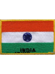 "India Flags ""With Text"""