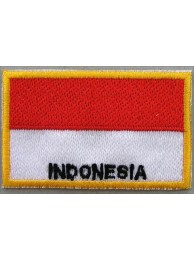 "Indonesia Flags ""With Text"""