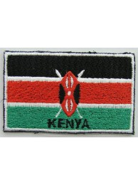 "Kenya Flags ""With Text"""