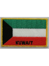 "Kuwait Flags ""With Text"""