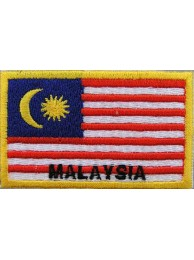 "Malaysia Flags ""With Text"""
