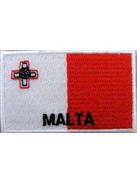 "Malta Flags ""With Text"""