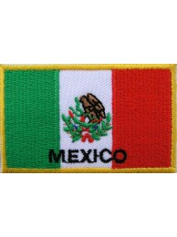 "Mexico Flags ""With Text"""