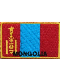 "Mongolia Flags ""With Text"""
