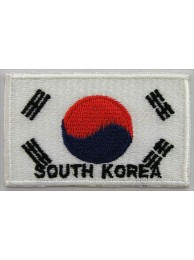 "Korea, South Flags ""With Text"""