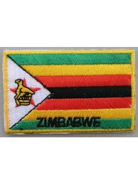 "Zimbabwe Flags ""With Text"""