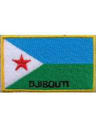 "Djibouti Flags ""With Text"""