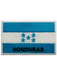 "Honduras Flags ""With Text"""