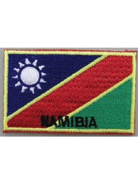 "Namibia Flags ""With Text"""