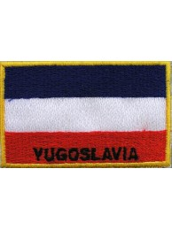 "Yugoslavia Nation Flags ""With Text"""