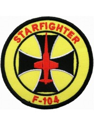 GERMAN AIRFORCE F104 STARFIGHTER PATCH