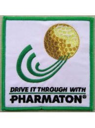 PHARMATON GOLF EMBROIDERED PATCH