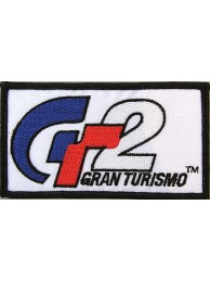 GT2- GRAN TURISMO RACING SPORT IRON ON EMBROIDERED PATCH