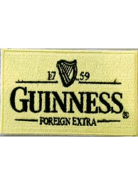 Guinness Beer Iron On Embroidered Patch #02