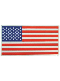 GIANT US FLAG AMERICAN EMBROIDERED PATCH (P1)