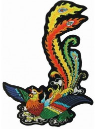 GIANT PHOENIX TATTOO PATCH LEFT (L-17L)