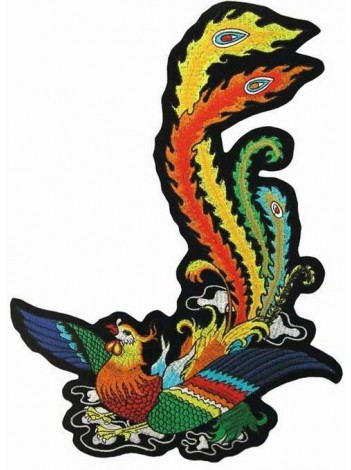 GIANT PHOENIX TATTOO PATCH LEFT (EXXL-17L)