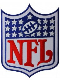 GIANT NFL AMERICAN FOOTBALL EMBROIDERED PATCH (P1)