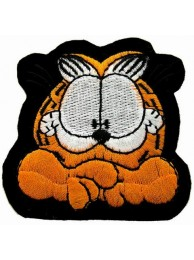 GARFIELD COMIC CARTOON  EMBROIDERED PATCH