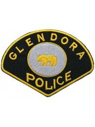 CALIFORNIA GLENDORA POLICE PATCH
