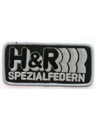 H & R SPEZIALFEDERN RACING SPORT EMBROIDERED PATCH #02