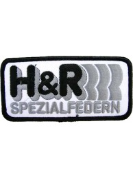H & R SPEZIALFEDERN RACING SPORT EMBROIDERED PATCH #03