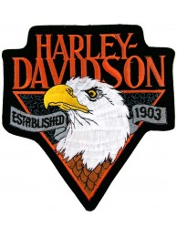 GIANT HARLEY DAVIDSON BIKER EAGLE PATCH (K03)