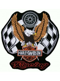 GIANT HARLEY DAVIDSON BIKER EAGLE PATCH (XL04)