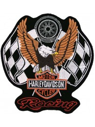 GIANT HARLEY DAVIDSON BIKER EAGLE PATCH (P04)