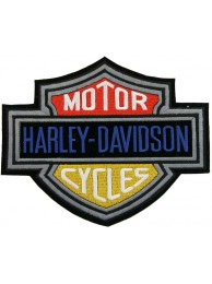 GIANT HARLEY DAVIDSON BIKER BAR/SHIELD PATCH (K05)