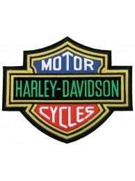 GIANT HARLEY DAVIDSON BIKER BAR/SHIELD PATCH (K06)