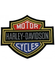 GIANT HARLEY DAVIDSON BIKER BAR/SHIELD PATCH (K05)