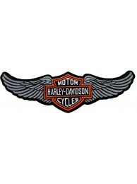 GIANT HARLEY DAVIDSON BIKER WINGS PATCH (L11)
