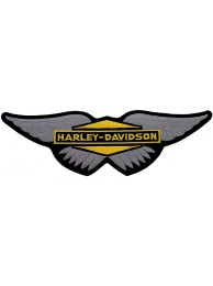 GIANT HARLEY DAVIDSON BIKER WINGS PATCH (K1)