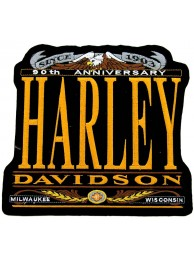 GIANT HARLEY DAVIDSON 90th ANNV PATCH (L15)