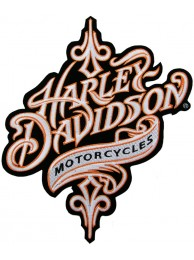 GIANT HARLEY DAVIDSON MOTORCYCLE PATCH (XL17)