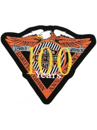 GIANT HARLEY DAVIDSON 100th ANNV EAGLE PATCH (L18)