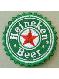 HEINEKEN BEER IRON ON EMBROIDERED PATCH #01