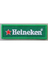 HEINEKEN BEER IRON ON EMBROIDERED PATCH #02