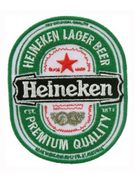HEINEKEN BEER IRON ON EMBROIDERED PATCH #07