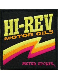 HI REV BIKER MOTOR SPORTS RACING PATCH #01