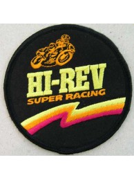HI REV BIKER MOTOR SPORTS RACING PATCH #02